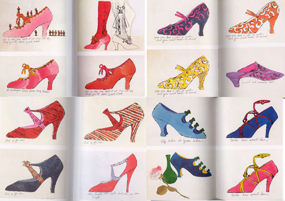 Andy Warhol Shoes · Adelle