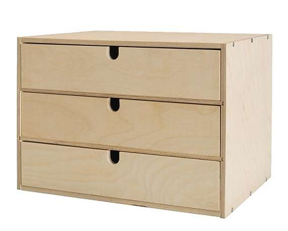 Decoupage ikea mini chest of drawers · adelle