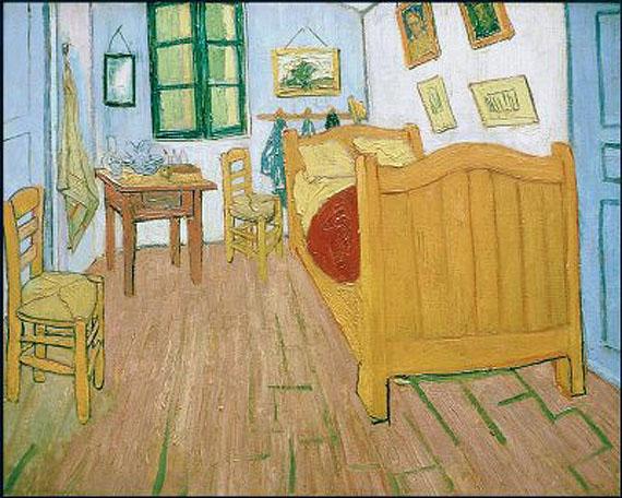Vincent S Bedroom In Arles Modern Art From Paris Musee D